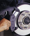 Brake Disc Cleaning